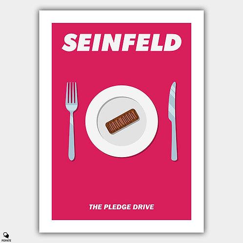 Seinfeld Alternative Poster - The Pledge Drive
