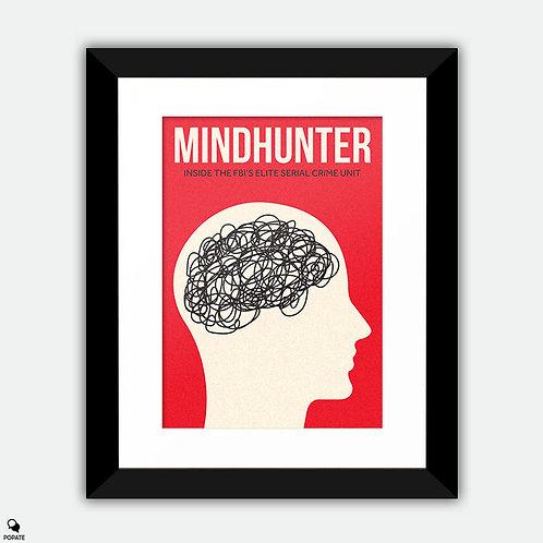 Mindhunter Minimalist Framed Print - Crazy thinks