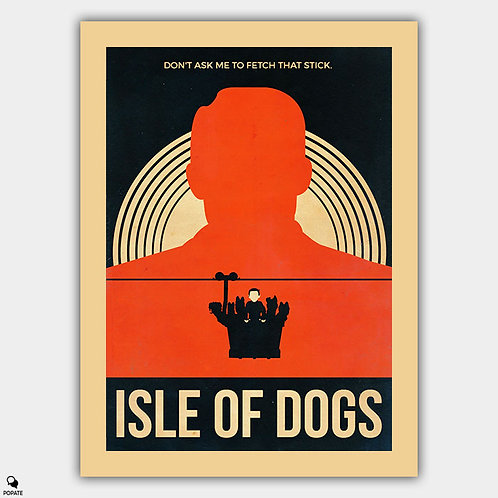 Isle of Dogs Vintage Alternative Poster