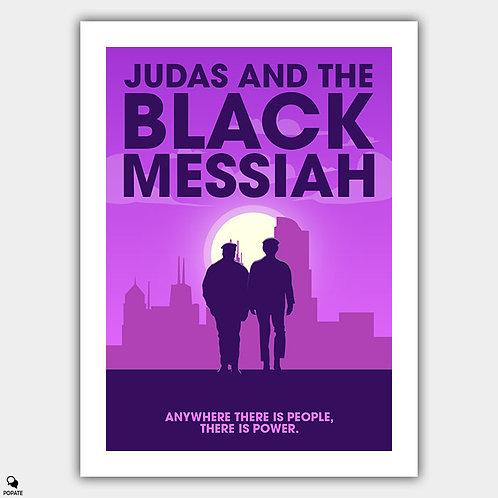 Judas and the Black Messiah Minimalist Poster