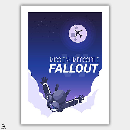 Mission Impossible Fallout Alternative Poster