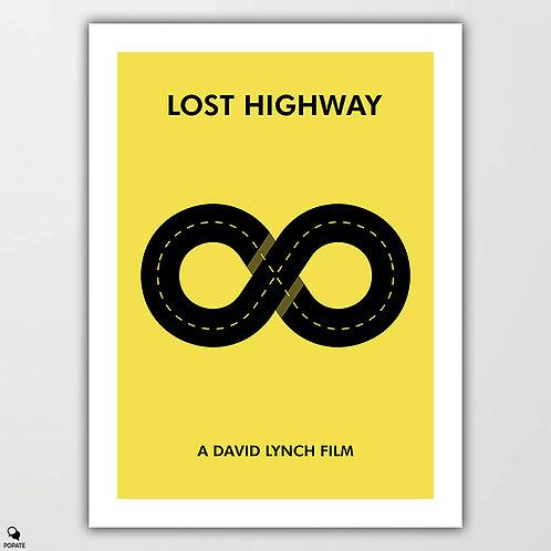 Lost Highway Minimalist Poster