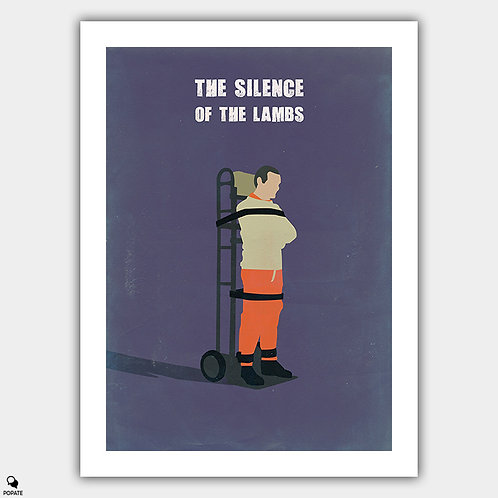 The Silence Of The Lambs Minimalist Poster