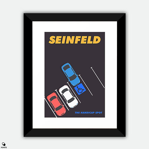 Seinfeld Alternative Framed Print - The Parking Space