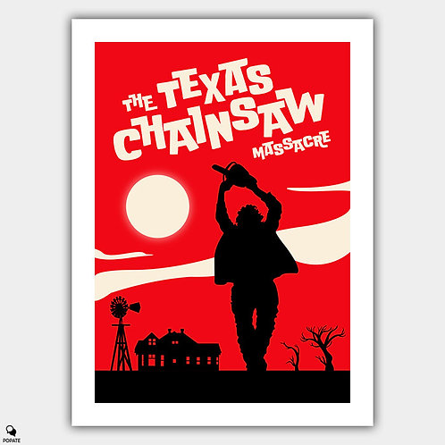 The Texas Chainsaw Massacre Vintage Poster