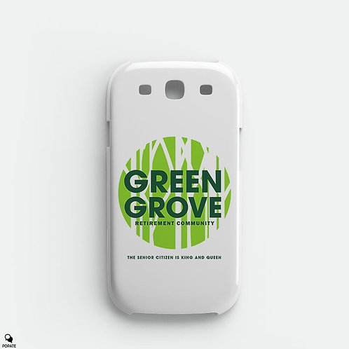 Green Grove Retirement Community Alternative Galaxy Phone Case from The Sopranos