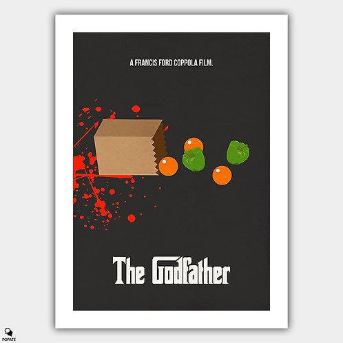 The Godfather Minimalist Poster