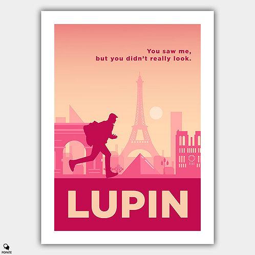 Lupin Minimalist Poster