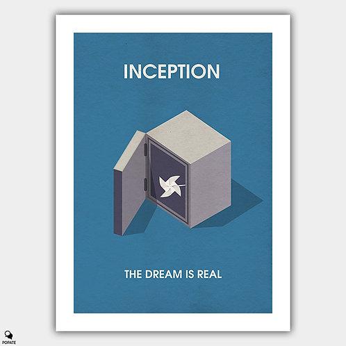 Inception Minimalist Isometric Poster