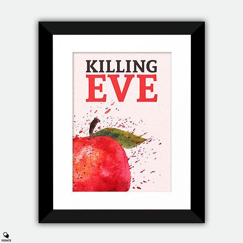 Killing Eve Minimalist Framed Print - Apple