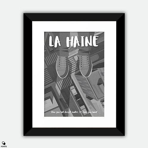 La Haine Alternative Framed Print