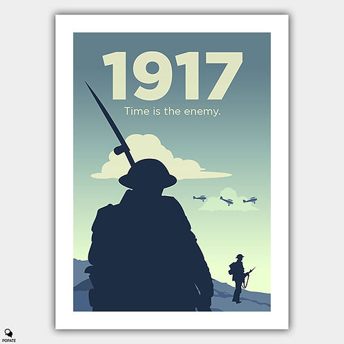 1917 Minimalist Poster