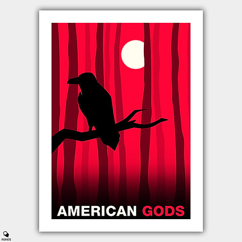 American Gods Alternative Poster - Odin