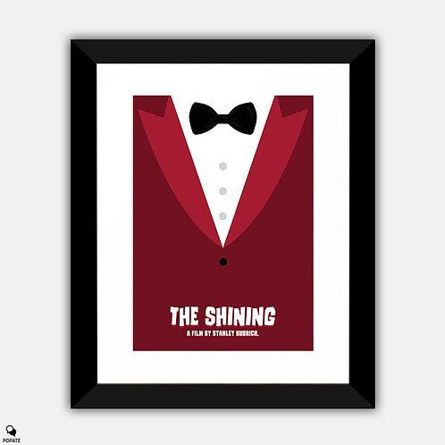 The Shining Minimalist Framed Print - Lloyd