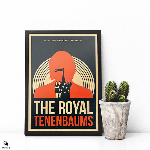 The Royal Tenenbaums Vintage Framed Print