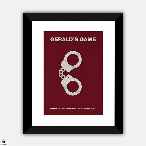 Gerald's Game Minimalist Framed Print