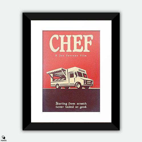 Chef Vintage Variant 2 Framed Print