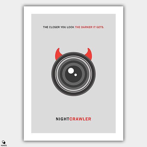 Nightcrawler Minimalist Poster