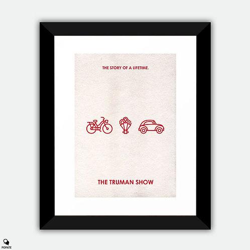 The Truman Show Minimalist Framed Print - Loop