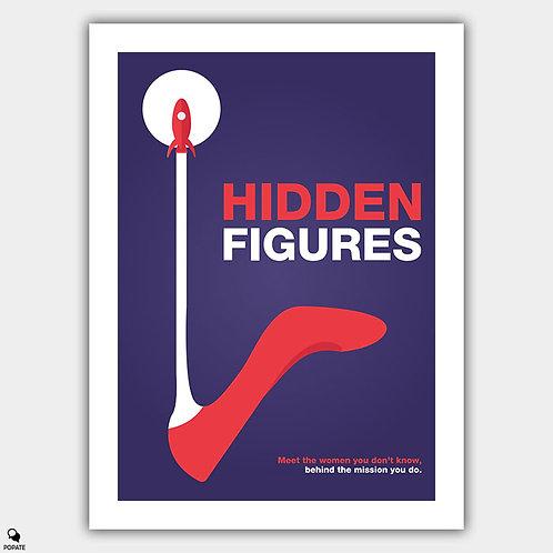 Hidden Figures Minimalist Poster #2