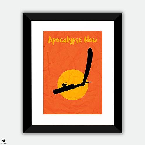 Apocalypse Now Minimalist Framed Print