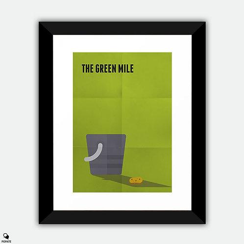The Green Mile Minimalist Framed Print - Bucket