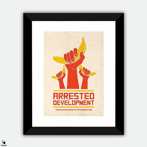 Arrested Development Alternative Framed Print - Banana