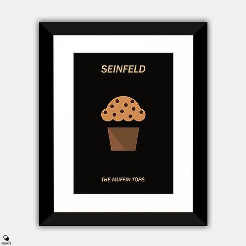 Seinfeld Minimalist Framed Print - The Muffin Tops