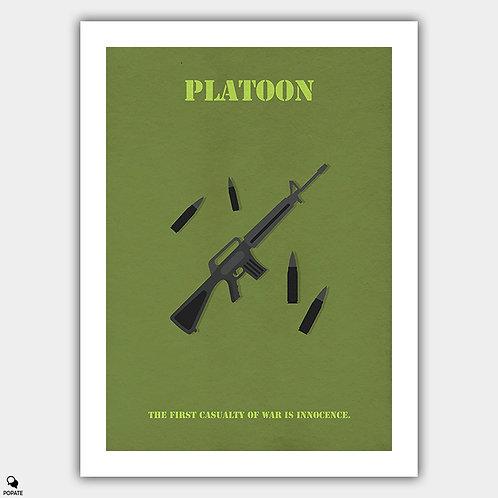 Platoon Minimalist Poster