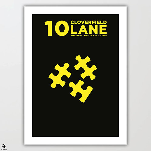10 Cloverfield Lane Minimalist Poster