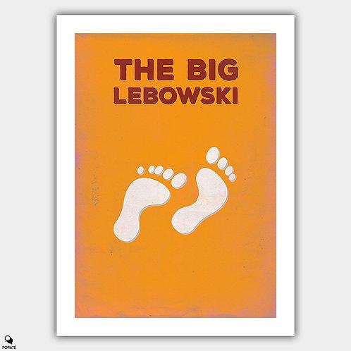 The Big Lebowski Minimalist Poster