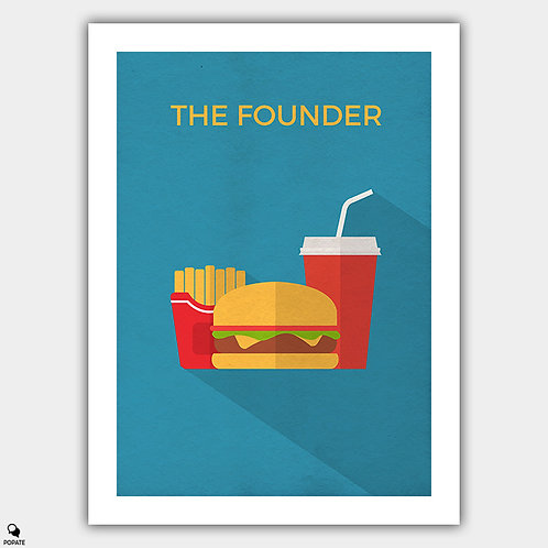 The Founder Minimalist Poster