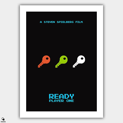 Ready Player One Minimalist Poster
