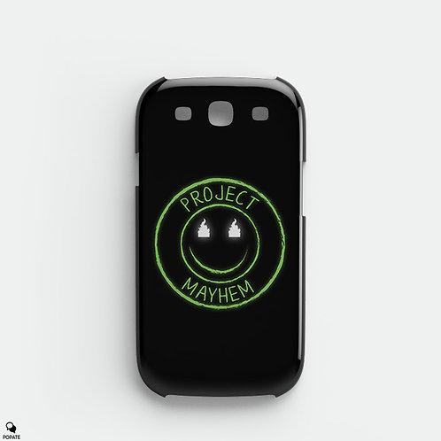 Project Mayhem Alternative Galaxy Phone Case from Fight Club