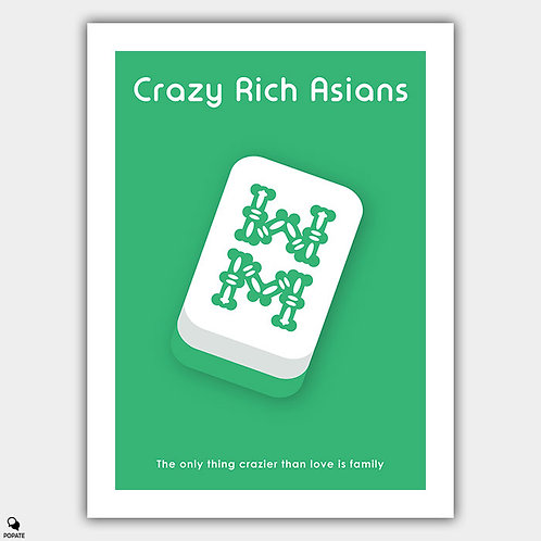 Crazy Rich Asians Minimalist Poster