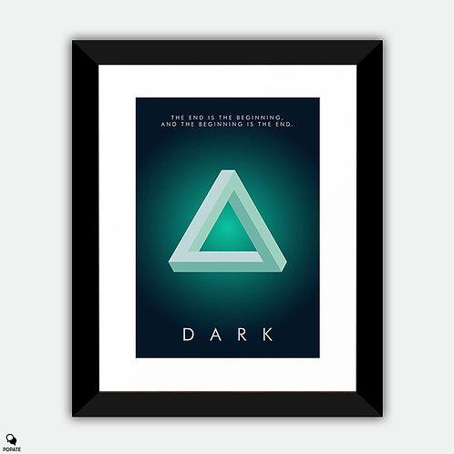 Dark Minimalist Framed Print