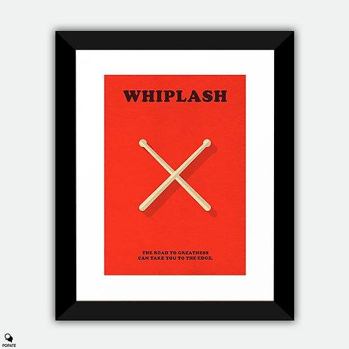 Whiplash Minimalist Framed Print - Drumsticks