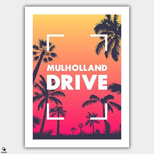Mulholland Drive Alternative Poster