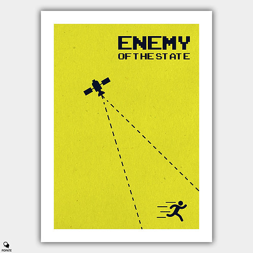 Enemy of The State Minimalist Poster