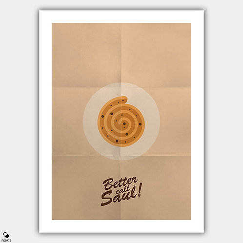 Better Call Saul Minimalist Poster - Cinnabon