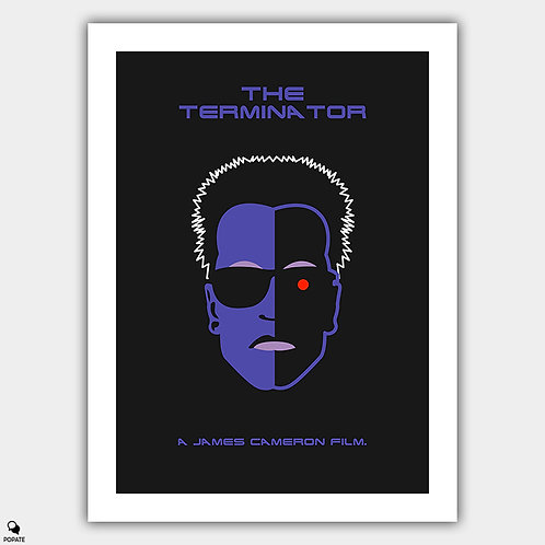 The Terminator Minimalist Poster