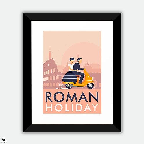 Roman Holiday Alternative Framed Print