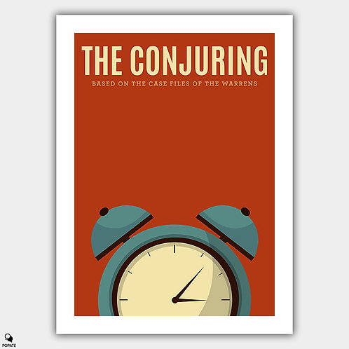 The Conjuring Vintage Poster