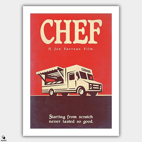 Chef Vintage Variant 2 Poster