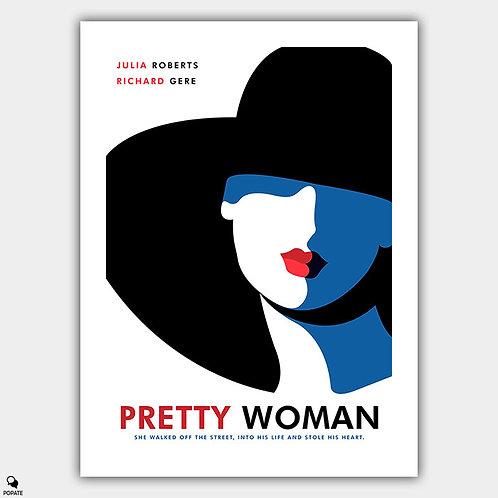 Pretty Woman Minimalist Poster - Vivian