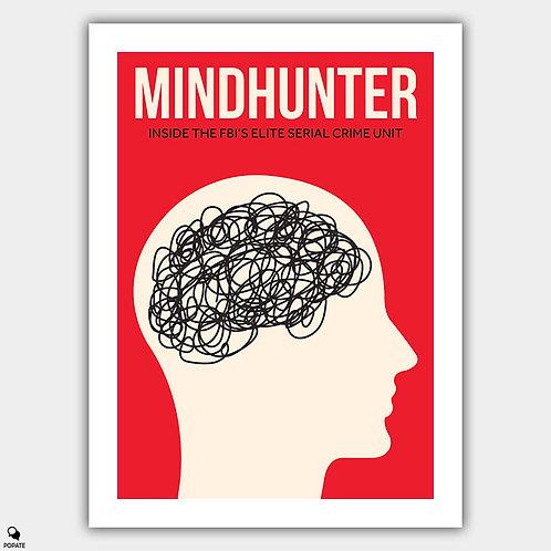 Mindhunter Minimalist Poster - Crazy Thinks