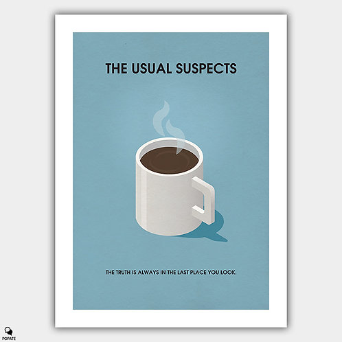 The Usual Suspects Minimalist Poster