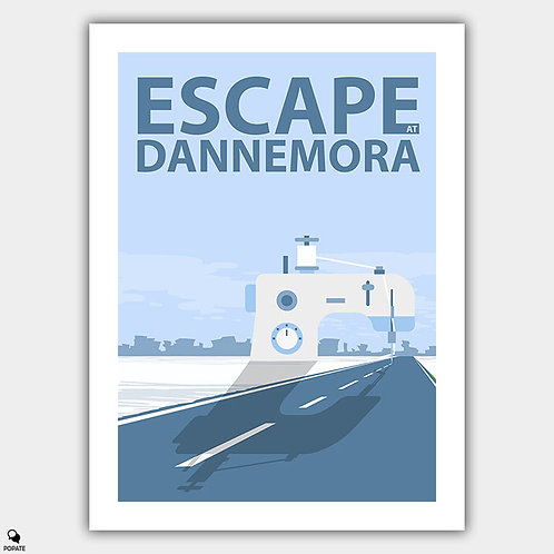 Escape at Dannemora Minimalist Poster