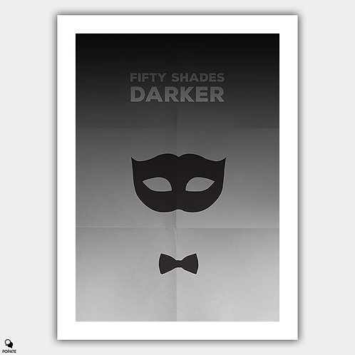 Fifty Shades Darker Minimalist Poster