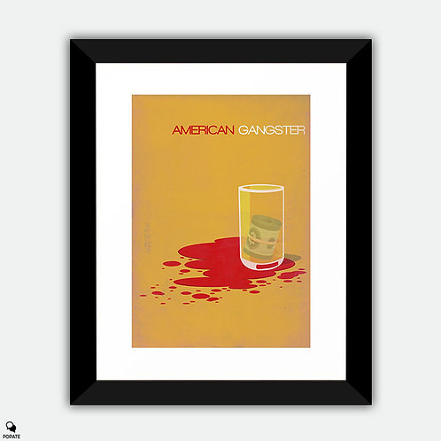 American Gangster Minimalist Framed Print